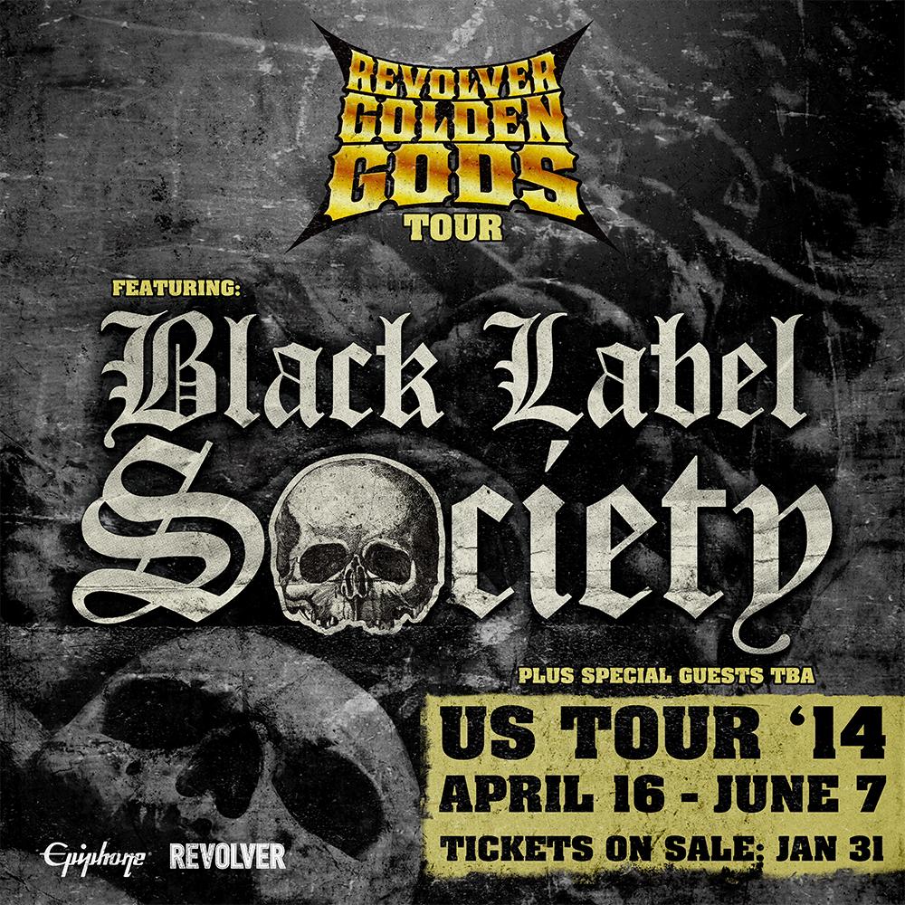 Black Label Society To Headline Revolver Golden Gods Tour