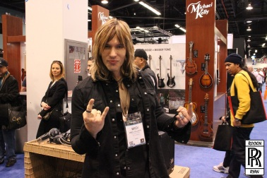 Brev Sullivan at NAMM 2014