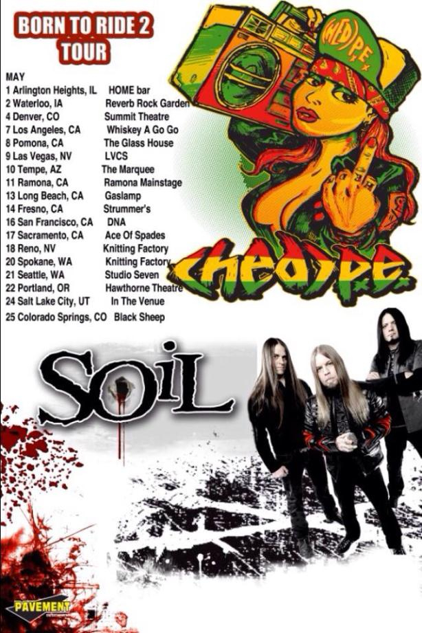 Soil with american headcharge and hed p e uk tour for Soil band albums