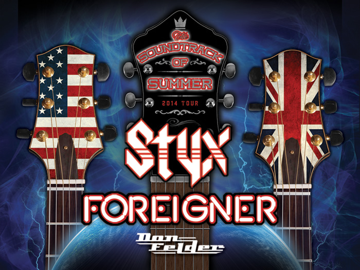 STYX And FOREIGNER With Special Guest Don Felder Set For