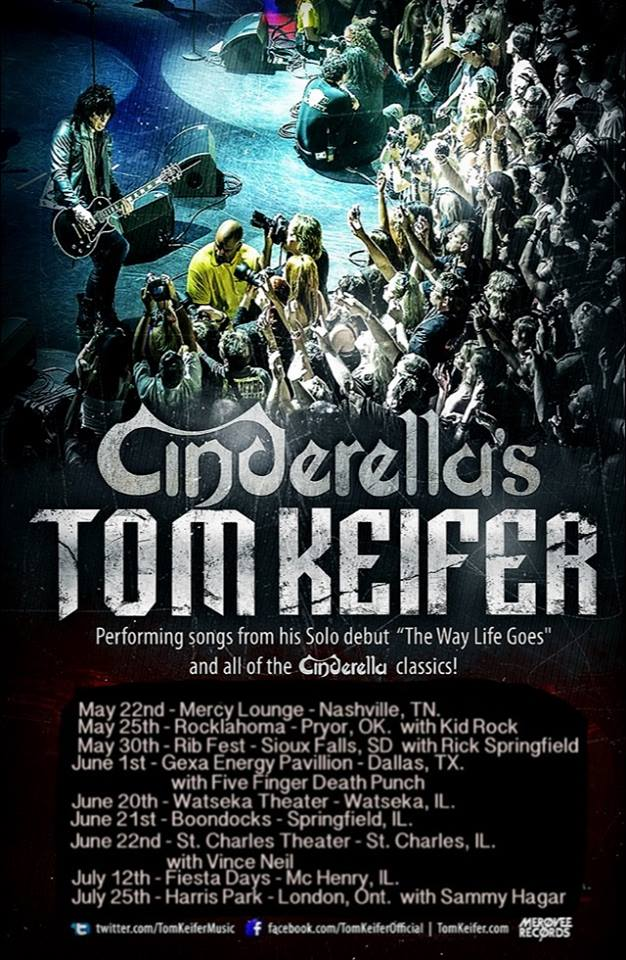 Tom Keifer Announces Summer Tour For Solo Debut The Way