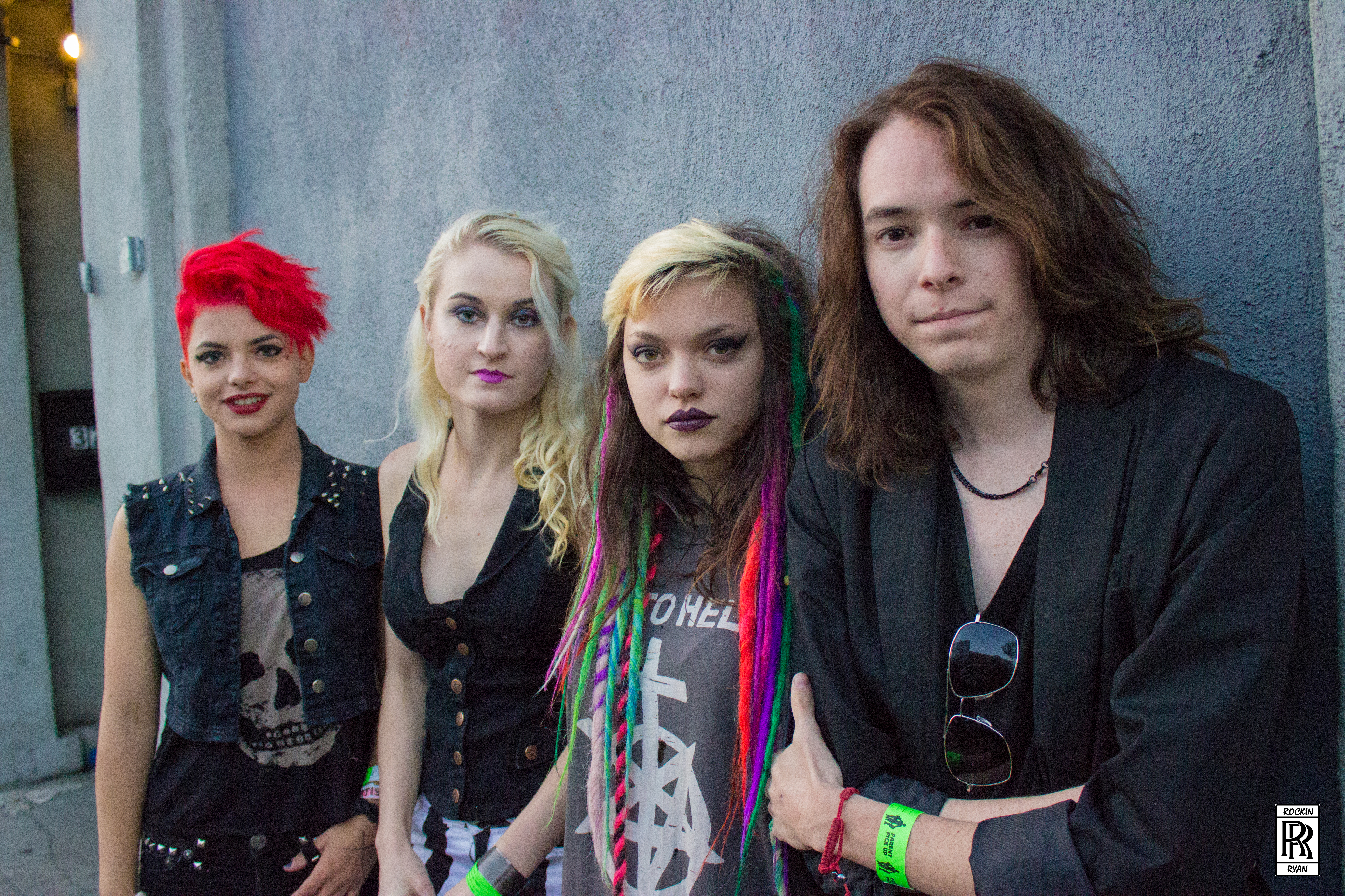 Cherri Bomb lights up the DNA Lounge in SF with their