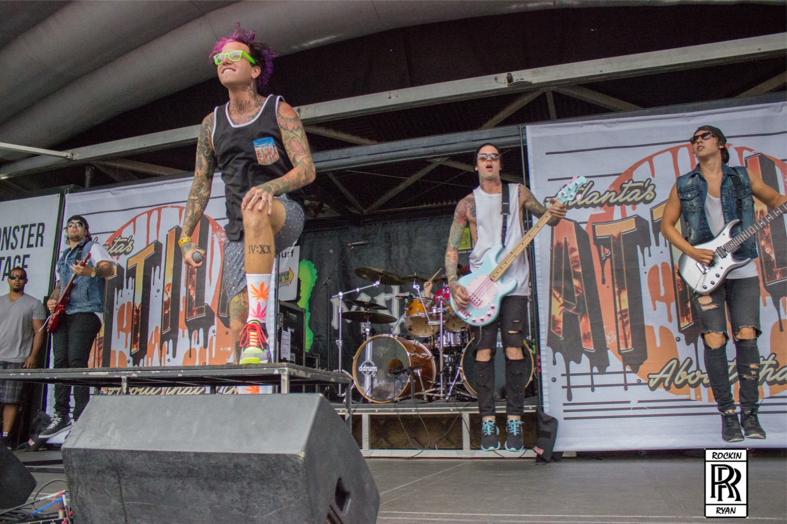 7b11b4bb2b Attila has been a crowd favorite at Warped Tour - Music Junkie Press