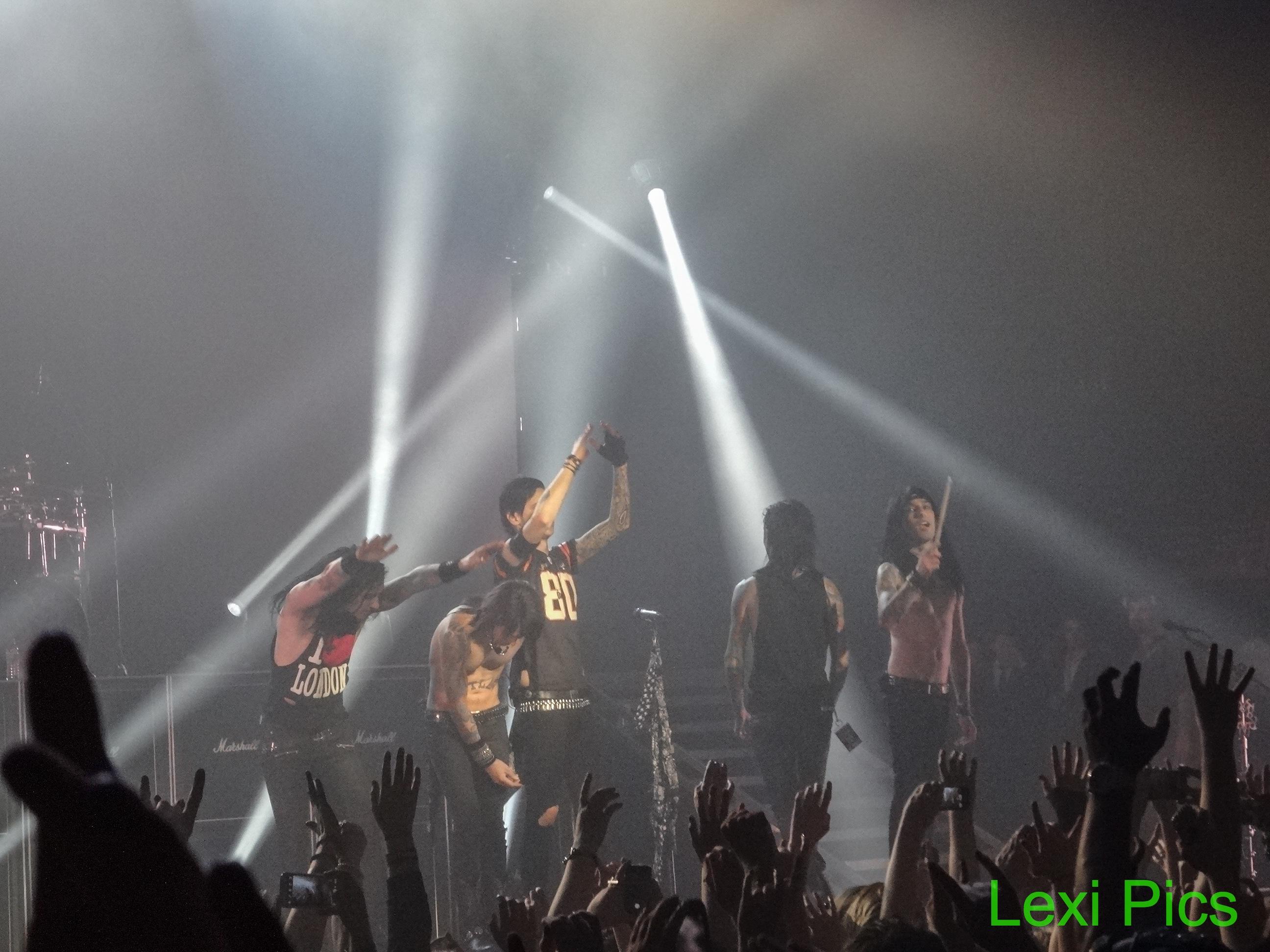 Concert Review Black Veil Brides Black Mtour 2014 O2 Academy Brixton London