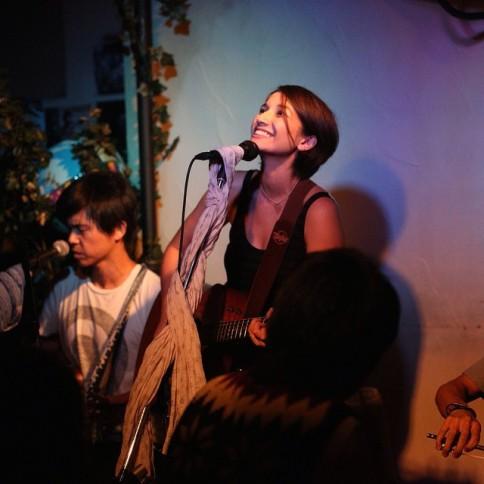 kate singing up